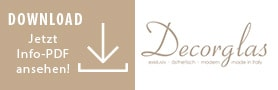Logo zum Download von PDF-Dateien von der Firma Decorglas