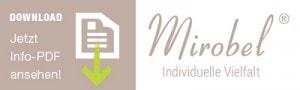 Logo zum Download von PDF-Dateien von der Firma Mirobel